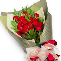 [플라워포유] 빨간장미꽃다발 (RM_RBC1015) [꽃다발/결혼기념일/크리스마스/프로포즈/화이트데이/발렌타인데이]