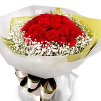 [플라워포유] 빨강장미꽃다발2 (RM_RBC1016) [꽃다발/결혼기념일/크리스마스/프로포즈/화이트데이/발렌타인데이]