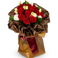 [플라워포유] 레드 후드 (RM_RBC1063) [꽃다발/결혼기념일/크리스마스/프로포즈/화이트데이/발렌타인데이]