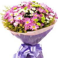 [플라워포유] 소국꽃다발 105b (RM_RB2033) [꽃다발/결혼기념일/크리스마스/프로포즈/화이트데이/발렌타인데이]