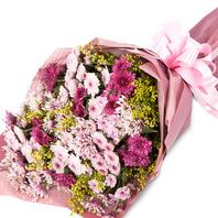 [플라워포유] 핑크소국다발 [꽃다발/결혼기념일/크리스마스/프로포즈/화이트데이/발렌타인데이]