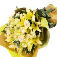 [플라워포유] 백합꽃다발 (RM_RBC4042) [꽃다발/결혼기념일/크리스마스/프로포즈/화이트데이/발렌타인데이]