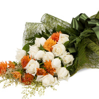 [플라워포유] 백장미혼합 (RM_RBC8047) [꽃다발/결혼기념일/크리스마스/프로포즈/화이트데이/발렌타인데이]