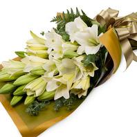 [플라워포유] 순수 (RM_RBC8056) [꽃다발/결혼기념일/크리스마스/프로포즈/화이트데이/발렌타인데이]