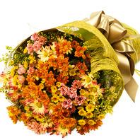 [플라워포유] 소국꽃다발 (RM_RBC9038) [꽃다발/결혼기념일/크리스마스/프로포즈/화이트데이/발렌타인데이