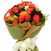 [플라워포유] 특별한 외출 (RM_RBC9049) [꽃다발/결혼기념일/크리스마스/프로포즈/화이트데이/발렌타인데이]