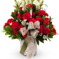 [플라워포유] 감사의마음 (RM_RAC1144) [꽃바구니/결혼기념일/크리스마스/프로포즈/화이트데이/발렌타인데이]