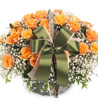 [플라워포유] 엘로 (RM_RAC4080) [꽃바구니/결혼기념일/크리스마스/프로포즈/화이트데이/발렌타인데이]