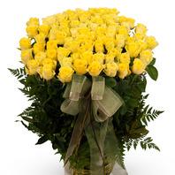 [플라워포유] 노란장미한가득 (RM_RAC4091) [꽃바구니/결혼기념일/크리스마스/프로포즈/화이트데이/발렌타인데이]