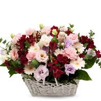 [플라워포유] 꽃향기 가득 (RM_RAC9023) [꽃바구니/결혼기념일/크리스마스/프로포즈/화이트데이/발렌타인데이]