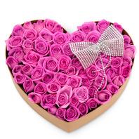 [플라워포유] 하트상자 84c (RM_RCB1024) [꽃상자/결혼기념일/크리스마스/프로포즈/화이트데이/발렌타인데이/로즈데이/기념일/특별한날/생일선물]