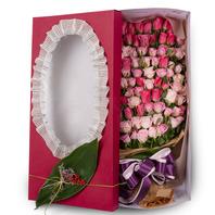 [플라워포유] 핑크의 조화(70~100) (RM_RCB3017) [꽃상자/결혼기념일/크리스마스/프로포즈/화이트데이/발렌타인데이/로즈데이/기념일/특별한날/생일선물]