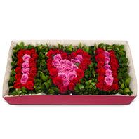 [플라워포유] 아이러브 (RM_RCB2004) [꽃상자/결혼기념일/크리스마스/프로포즈/화이트데이/발렌타인데이/로즈데이/기념일/특별한날/생일선물]