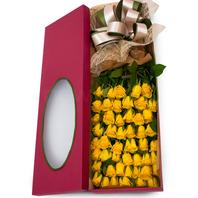 [플라워포유] 노랑장미상자 (RM_RCB2006) [꽃상자/결혼기념일/크리스마스/프로포즈/화이트데이/발렌타인데이/로즈데이/기념일/특별한날/생일선물]