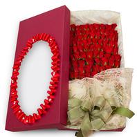 [플라워포유] 100송이꽃상자 [장미백송이/결혼기념일/크리스마스/프로포즈/화이트데이/발렌타인데이]
