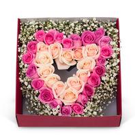 [플라워포유] 꽃상자 (RM_RCB3033) [꽃상자/결혼기념일/크리스마스/프로포즈/화이트데이/발렌타인데이/로즈데이/기념일/특별한날/생일선물]